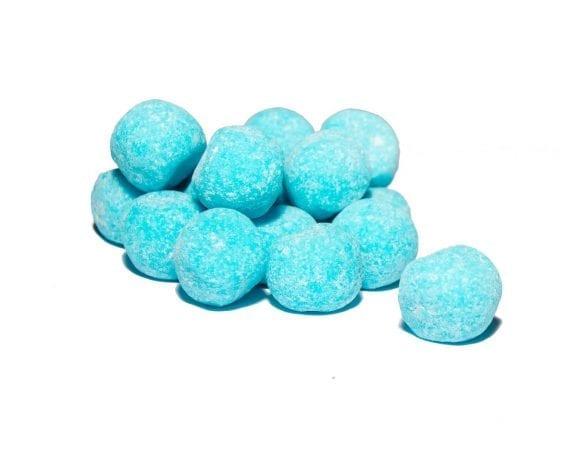 Eat Liquorice-raspberry bonbons sweets pick n mix